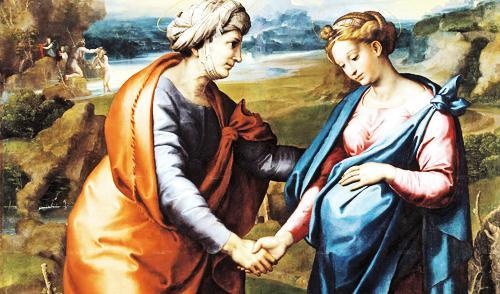 A visita da Mãe de Jesus