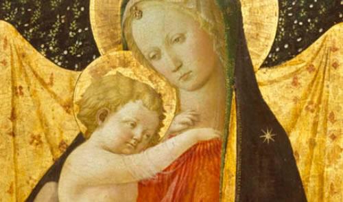 Maria diante da vida pública  de seu Filho