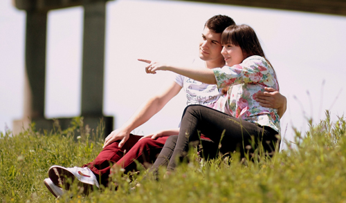 Recado a um casal jovem