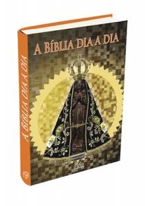 Bíblia dia a dia 2017 - capa cristal - Nossa Sra. Aparecida