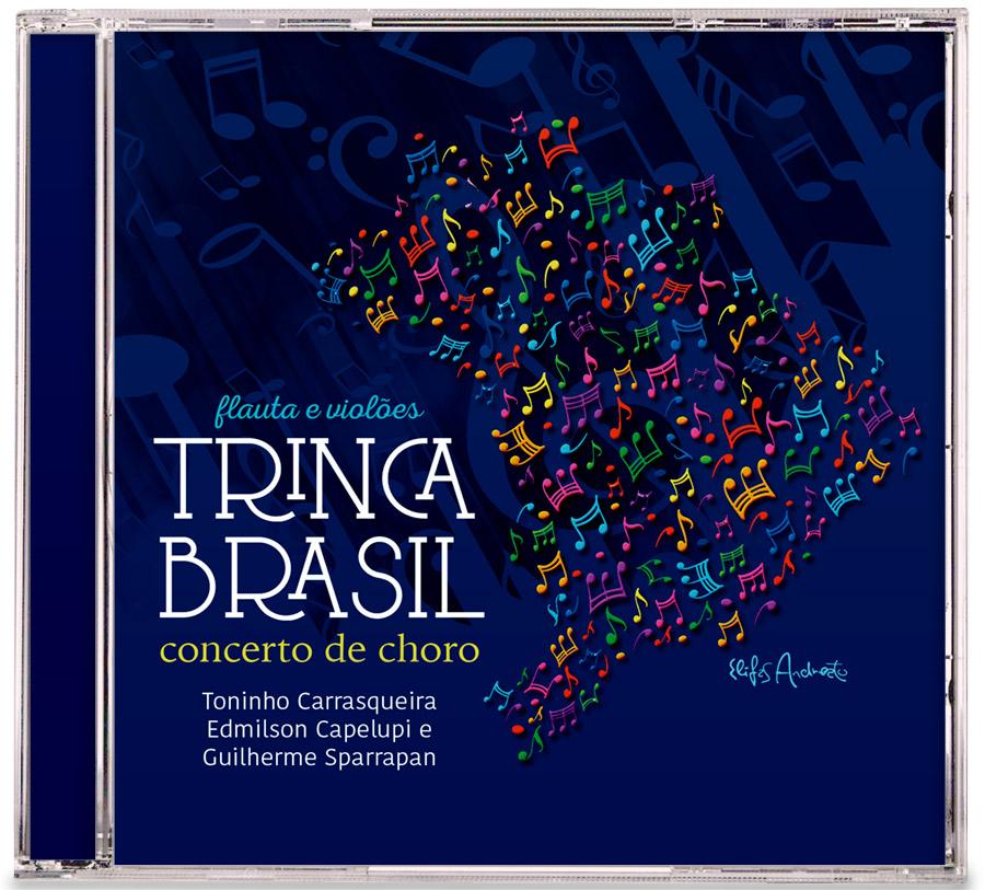 CD Trinca Brasil - concerto de choro