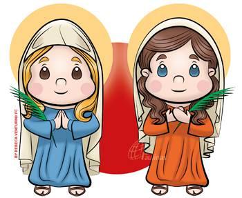 Santas Basilissa e Anastácia